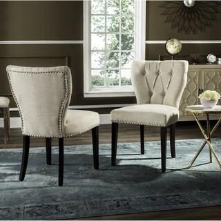 Safavieh En Vogue Dining Kendi Wheat Side Chairs (Set of 2)