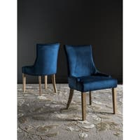 Safavieh En Vogue Dining Lester Navy Dining Chairs (Set of 2)