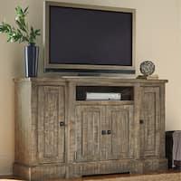 Progressive Meadow Grey Pine TV Console