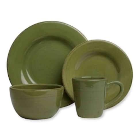 TAG Sonoma Dinnerware Collection Celadon 16pc