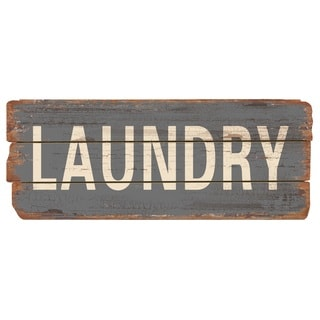 Rustic Decor Laundry Wood Sign