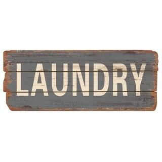 Rustic Decor Laundry Wood Sign