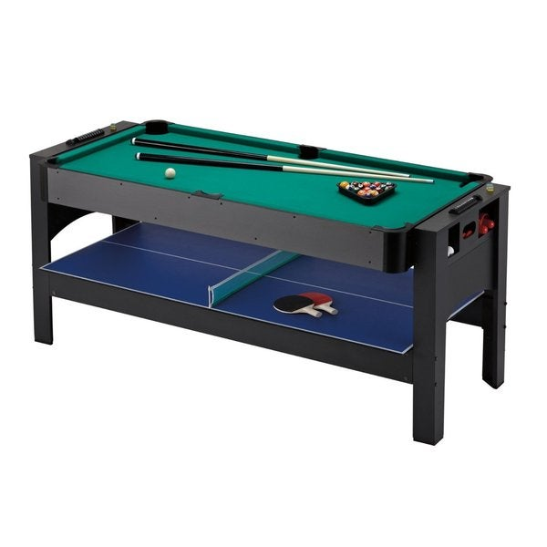 Genial Fat Cat Original 3 In 1 6 Foot Pockey Table Billiards/ Air