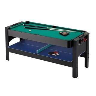 Fat Cat Original 3-in-1 6-foot Pockey Table Billiards/ Air Hockey/ Table Tennis Game|https://ak1.ostkcdn.com/images/products/11391413/P18358611.jpg?impolicy=medium
