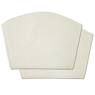 Restaurant Quality Heavyweight Vinyl Wedge Table Placemats (Set of 2, 4 or 6)