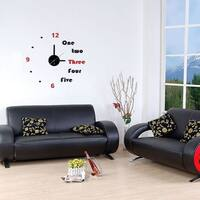 Modern Home Self-adhesive DIY 3D Lucy Wall Clock