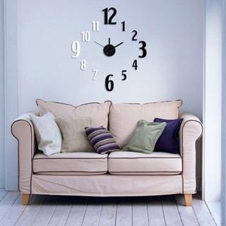 Modern Home Self-adhesive DIY 3D Jackson Wall Clock