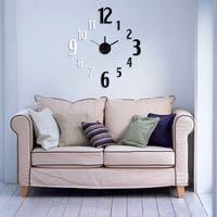 Modern Home Self-adhesive DIY 3D Jackson Wall Clock
