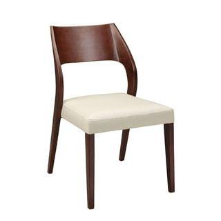 Aurelle Home Max Modern Dining Chair (Set of 2)