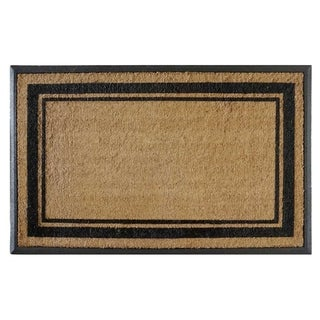 "First Impression Markham Border Double Extra Large Doormat (30""x48"")"