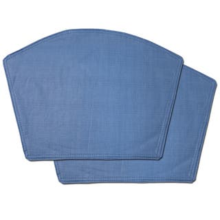 Chambray Restaurant Quality Heavyweight Vinyl Wedge Table Placemats (Set of 2, 4 or 6)|https://ak1.ostkcdn.com/images/products/11391444/P18358635.jpg?impolicy=medium