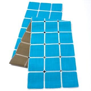 Reversible Geometric Table Runner