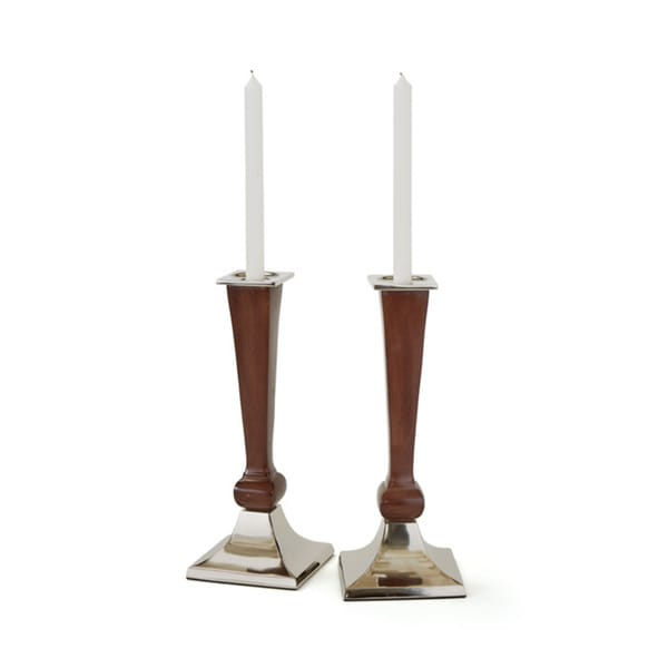 Woody Candlesticks
