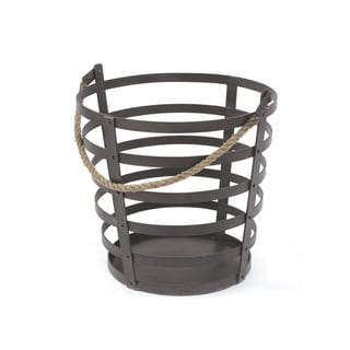 Hip Vintage Iron and Rope Basket