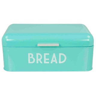 Home Basics Retro Stainless Steel Bread Box
