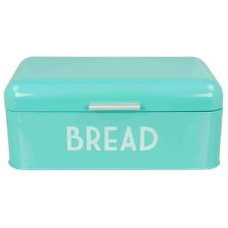 Home Basics Retro Stainless Steel Bread Box