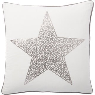 Andrew Charles Ogee 20-inch Star Print Throw Pillow