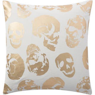 Andrew Charles Atlas 20-inch Foiled Skulls Throw Pillow|https://ak1.ostkcdn.com/images/products/11391569/P18358800.jpg?impolicy=medium