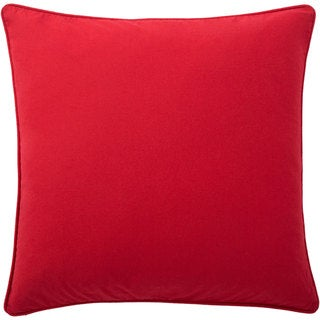 Andrew Charles All American 20-inch Solid Colored Throw Pillow