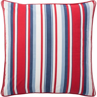 Andrew Charles All American 20-inch Stripe Print Throw Pillow