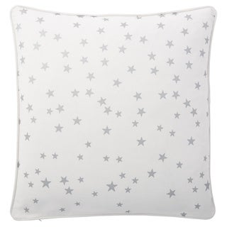 Andrew Charles Atlas 20-inch Star Print Throw Pillow