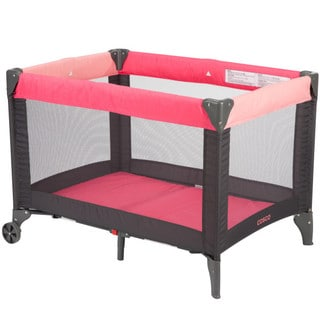 Cosco Funsport Play Yard in Colorblock Coral
