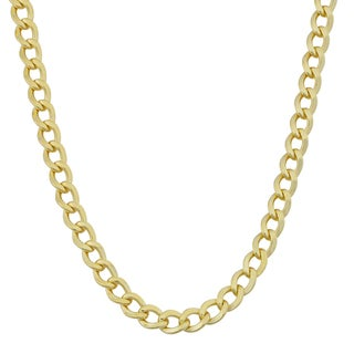 Link to Fremada 14k Yellow Gold Filled 5mm High Polish Miami Cuban Link Chain Necklace Similar Items in Necklaces