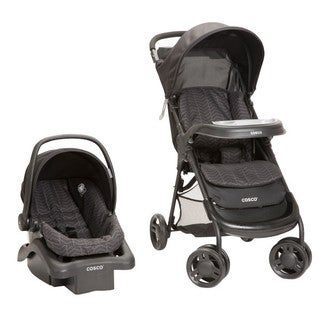 Cosco Lift and Stroll Travel System in Black Arrow