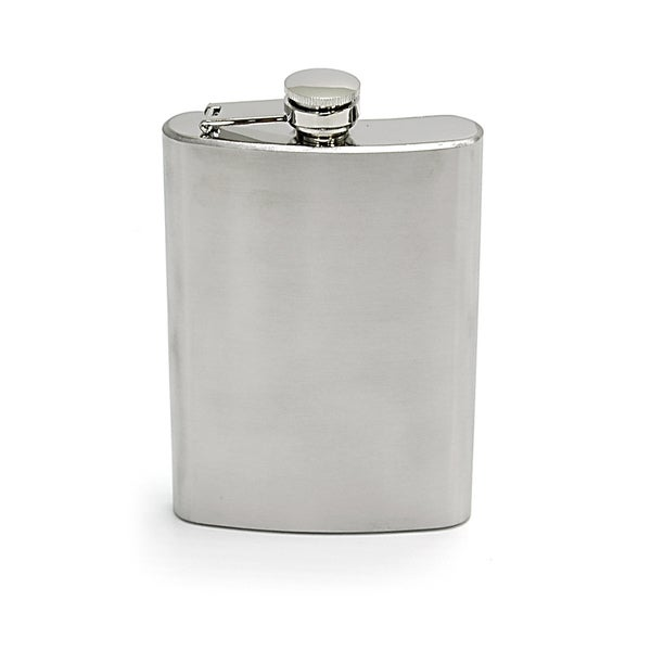 Chinook Stainless Steel Hip Flask 8 oz
