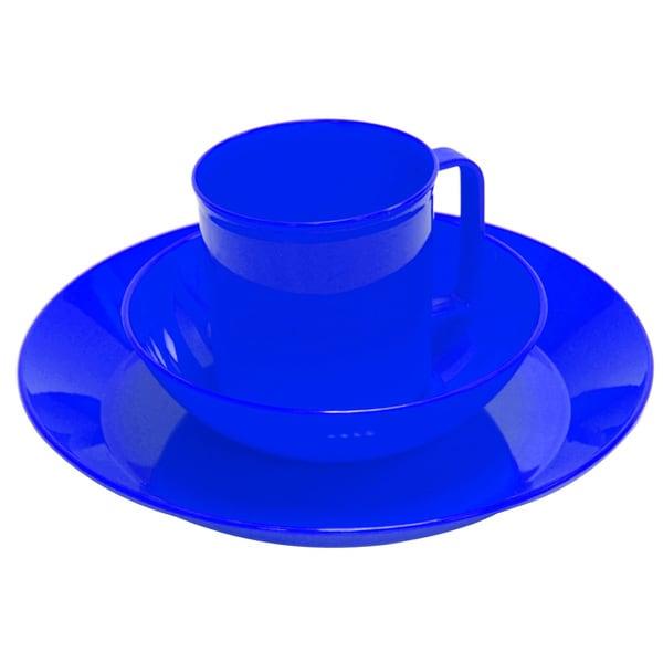 Chinook Acadia Tableware Set Blue