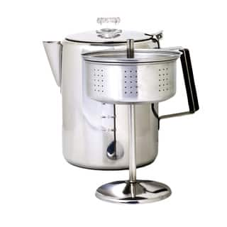 Chinook Coffee Percolator 12 cup|https://ak1.ostkcdn.com/images/products/11391828/P18358968.jpg?impolicy=medium