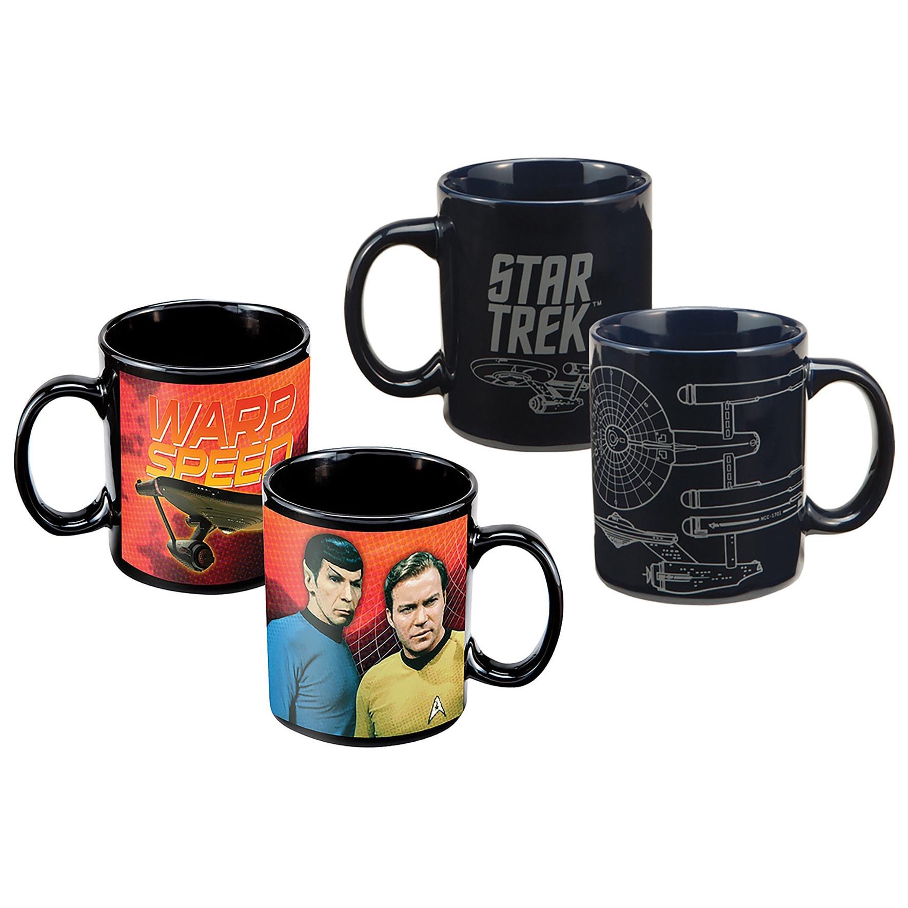 Star Trek Movie Coffee Mug Collection (2 Pack) (2-Pack St...