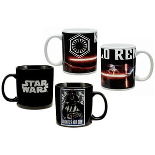 Two-piece Star Wars Darth Vader and Kylo Ren 20-ounce Collection Mug