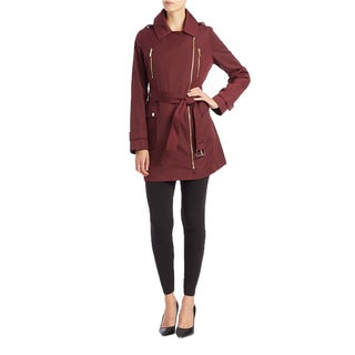 Michael Michael Kors Burgundy Trench Coat