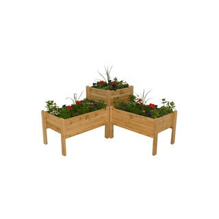 Elevated Garden Bed Combo