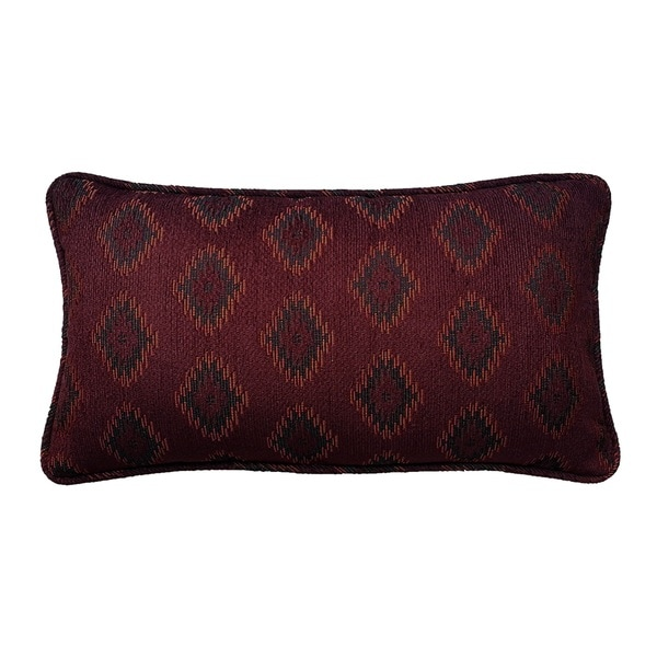 Diamond Jacquard Decorative Throw Pillow