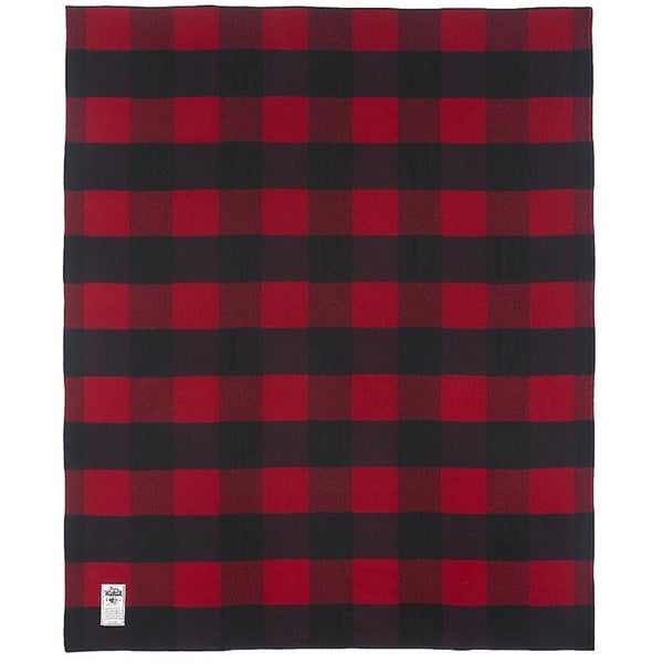 Woolrich Seven Springs BRB Red Throw