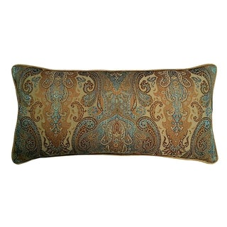 Jewel Tone Tapestry Decorative Throw Pillow