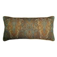 Jewel Tone Tapestry Decorative Throw Pillow