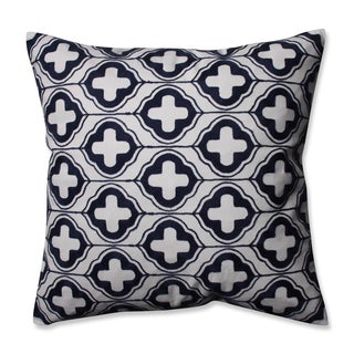 Pillow Perfect Aegis Navy 16.5-inch Throw Pillow