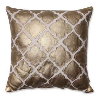Pillow Perfect Flash Gold 16.5-inch Throw Pillow