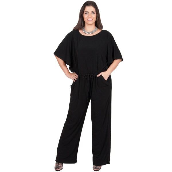KOH KOH Women's Plus Size Short Sleeve Slimming Evening ...