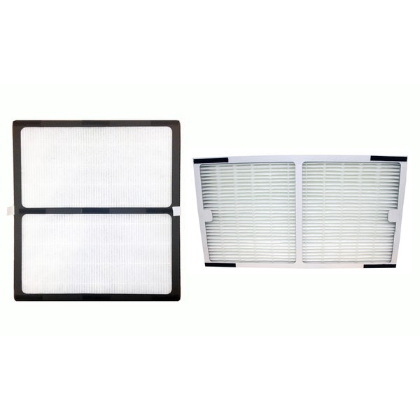 Replacement HEPA Style Filter C & D Filter, Fits Idylis IAP-10-280,  Compatible with Part 0412555, IAF-H-100C