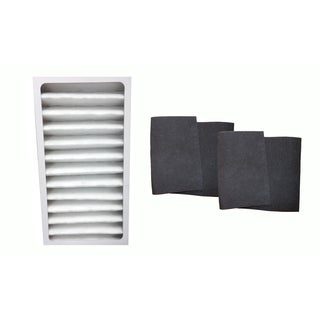 Hunter 30710 30711 30730 Air Purifier Filter and 2 Carbon Pre Filters, Part # 30963