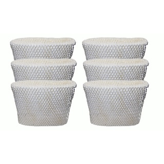 6 Holmes HWF65 and H65-C Humidifier Wick Filters, Part # HWF-65