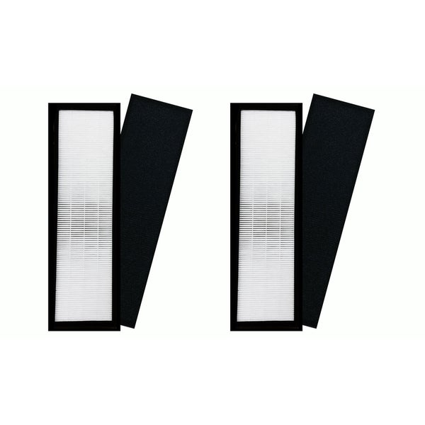 2pk Replacement HEPA Style B Air Purifier Filters, Fits Germguardian AC4800 Series, Compatible with Part FLT4825