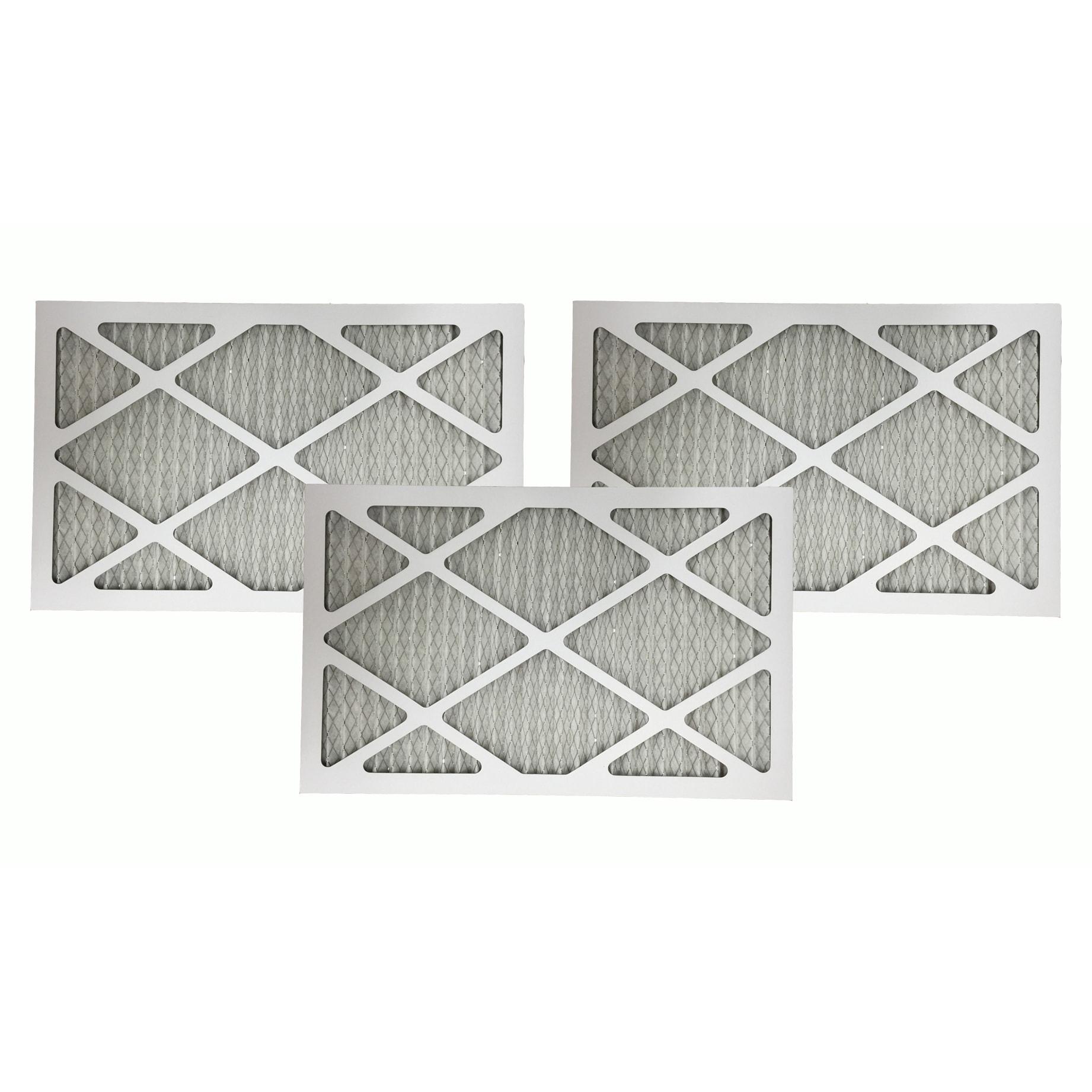 Crucial 3 Merv 11 Allergen Air Furnace Filters 16x25x1 (a...