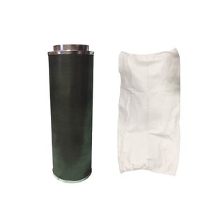 10x40 -inch Inline Fan Carbon Filter and Odor Control, Part # GLFILT10L