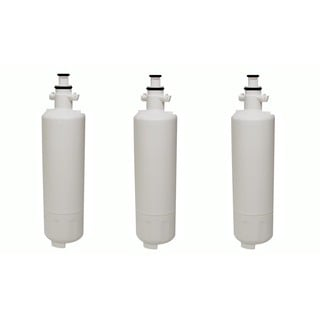 3 LG LT700P (RFC1200A) Refrigerator Water Purifier Filters Fit LG ADQ36006101 and ADQ36006101-S