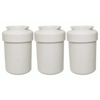 3 GE Refrigerator Water Purifier Filters Fit GE MWF GWF HWF 46-9991 WSG-1 WF287 and EFF-6013A